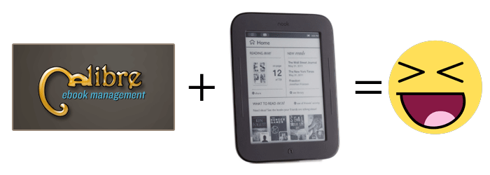 Launch Calibre when you Connect Your Nook