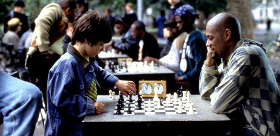 Screencap from the film, Searching for Bobby Fischer.