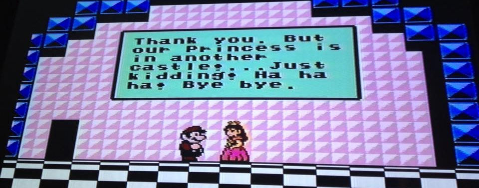 Super Mario Brothers 3 Win Screen