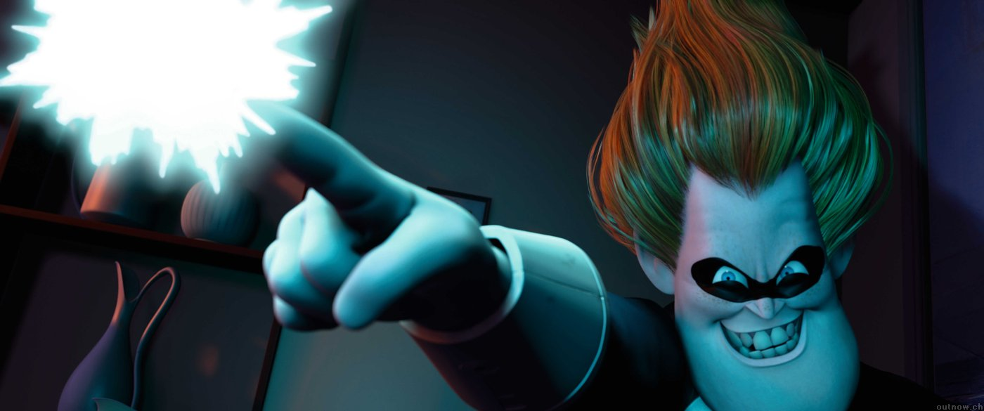 Syndrome from Pixar's The Incredibles